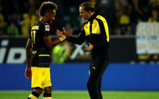 "Dortmund boss Tuchel talks of ""relationship of trust"" with Aubameyang"