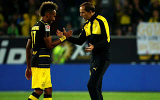 "Dortmund boss Tuchel talks of ""relationship of trust"" with Aubameyang"