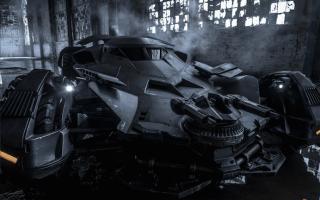 Aggressive new Batmobile revealed