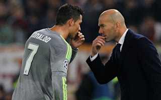 Zidane battles to slow Ronaldo down ahead of Man City fitness race