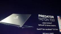 El nuevo Predator Triton 700 es una bestia más portátil de lo que podrías pensar