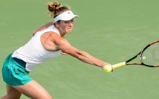 Svitolina makes winning start in Connecticut, Mladenovic ousted