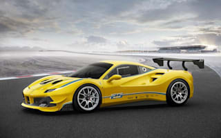 Ferrari unveils 488 Challenge to set pulses racing