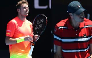 Australian Open: Stan's 's***' talking, Isner's smashing