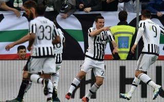 Juventus v Sampdoria: Padoin sends out warning as champions close stunning campaign