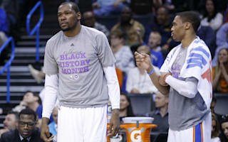 Durant denies telling Westbrook he was staying in Oklahoma City