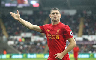 Swansea City 1 Liverpool 2: Milner penalty piles pressure on Guidolin