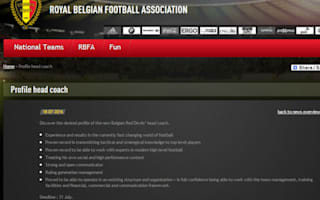 Spruce up your CVs - KBVB advertises for Wilmots successor online