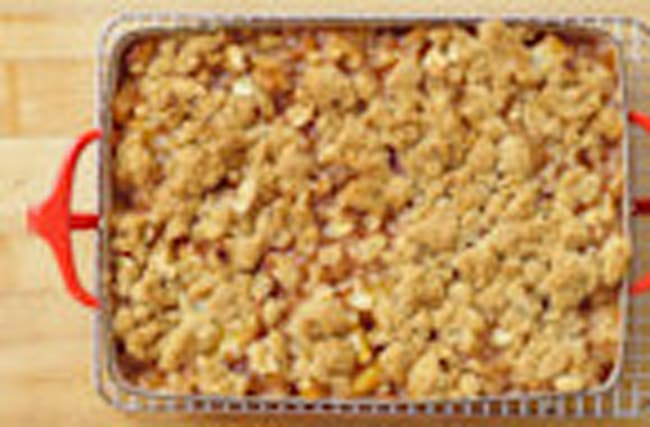 How to Make Peach Crisp