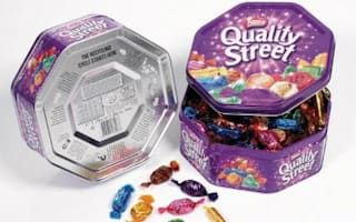 Quality Street tins shrink