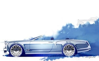Bentley shows Mulsanne Convertible Concept