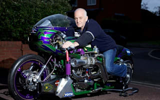 DIY Harley to attempt 250mph speed record