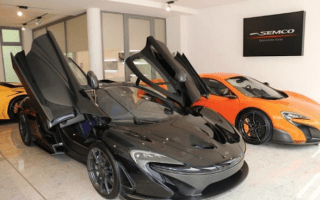 Nearly new McLaren P1 goes on sale - for over €2 million