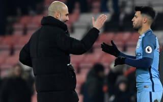 Guardiola talks up 'important' Aguero