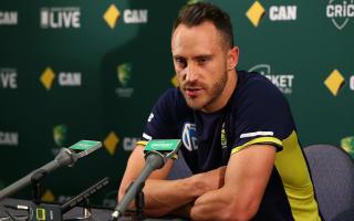Du Plessis seeks Graeme Smith advice ahead of WACA Test