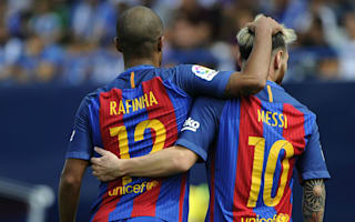 Barcelona made ambitious Leganes pay - Rafinha