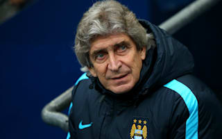 Pellegrini insists Manchester City are focussed on the present