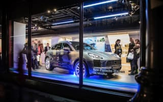 Porsche Macan makes UK debut at Harrods