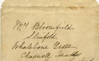 Historic Titanic letter for sale
