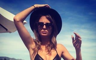 Millie Mackintosh wears tiny black bikini on LA holiday