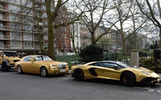 Owner of golden supercar fleet revealed