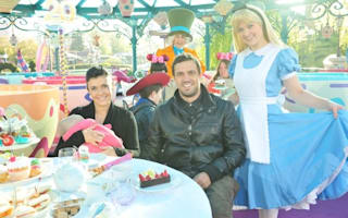 Celebrities celebrate Disneyland Paris' 20th anniversary
