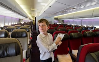10-year-old boy appointed to test Virgin Atlantic planes