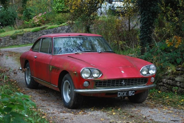 '65 Ferrari 330GT Berlinetta 2+2 up for auction