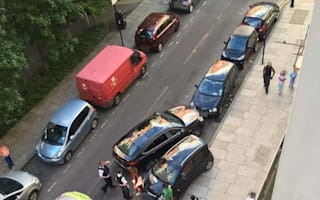 London drivers in stand-off over parking space