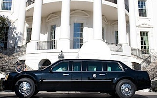 Obama rolls into London aboard 8-tonne 'Beast'