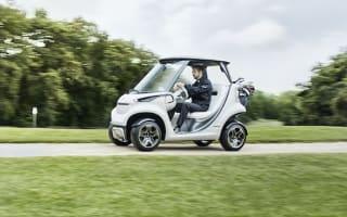 Mercedes unveil luxurious new golf cart