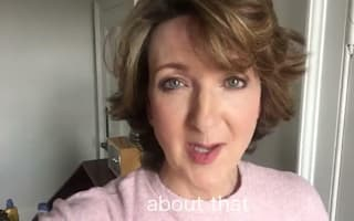 Victoria Derbyshire reveals hair is returning after cancer treatment