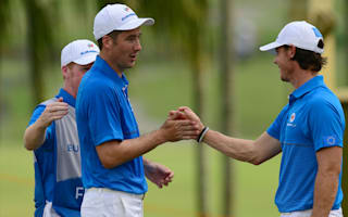 Europe make strong start in EurAsia Cup