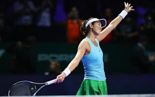 Spirited Muguruza pounces on Kuznetsova fatigue