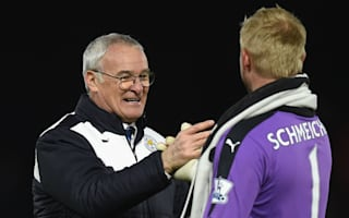 Schmeichel denies players met with Leicester board to get Ranieri sacked