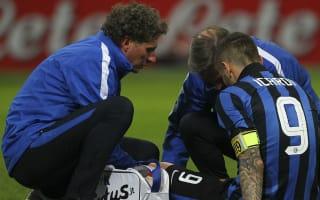 Inter confirm Icardi medial knee ligament damage