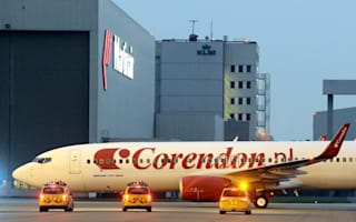 Panic as passenger plane catches fire before take-off