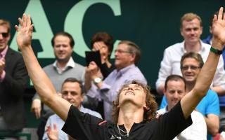 Zverev shocks Federer in Halle to book Mayer final