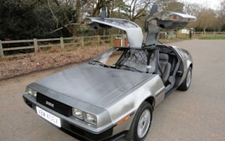 Brand new BTTF promo DeLorean for sale