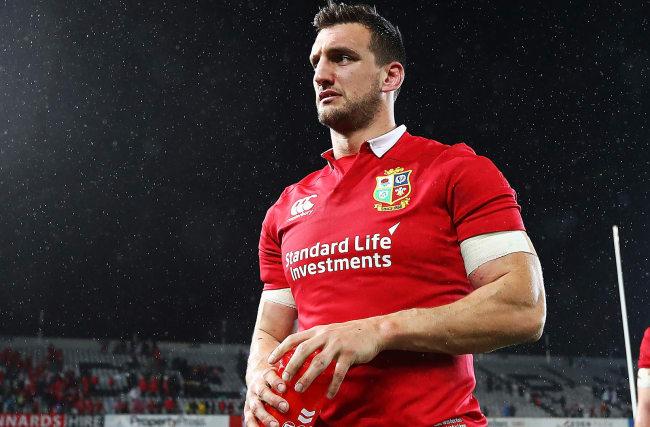 Warburton to captain Lions as Sexton, Farrell named to start