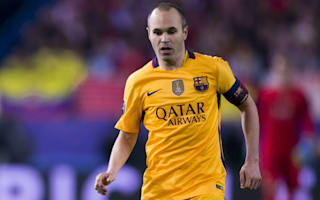 Iniesta welcomes Barca's midfield competition
