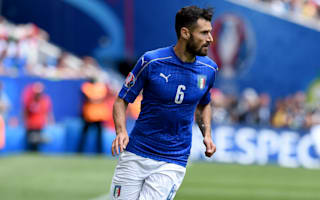Injury concern for Italy's Candreva