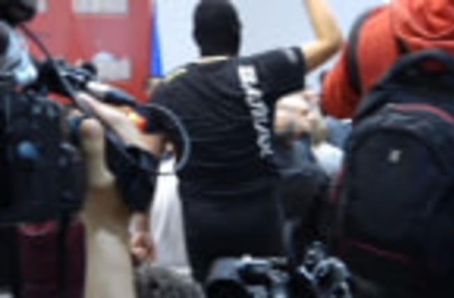Protesters storm into Macedonia parliament, Social Democratic leader injured