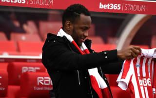 Pulis backs Berahino to get back on track at Stoke