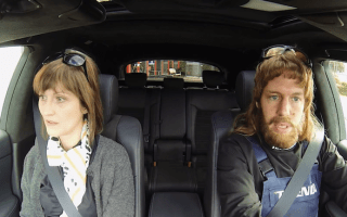 Sebastian Vettel goes undercover as dealership mechanic