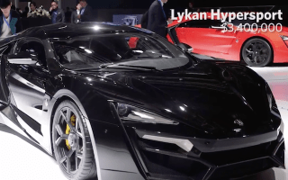 The 8 most expensive cars in the world revealed