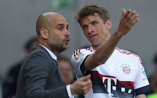 Guardiola was in his own world, says Muller