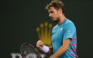 Wawrinka books third-round berth but Murray departs Indian Wells