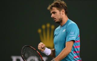 Wawrinka books third-round berth but Murray departs Indian Wells