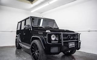 Kylie Jenner's tasteless Mercedes G63 AMG is up for grabs